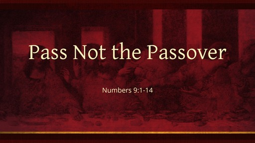 Pass Not the Passover