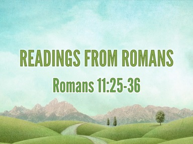 Readings from Romans 18