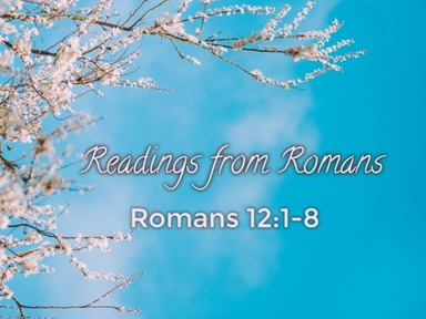 Readings from Romans 19