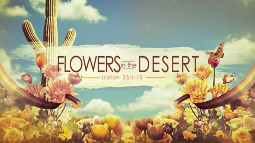 Isaiah 35:1-10 Flowers in the Desert