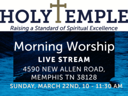 Morning Worship @HT 3/22/20 (Live Stream)