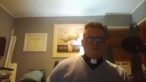 Live Now And Welcome Friends And Family. Rev.Mark Sebesta