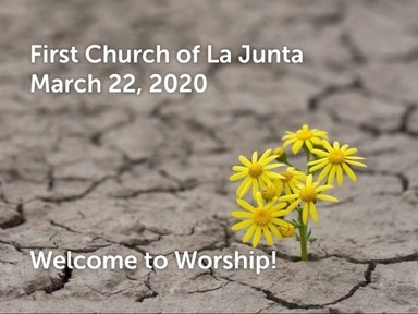 March 22nd Worship Service