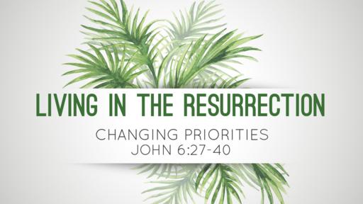 Lenten Postcards: Changing Priorities