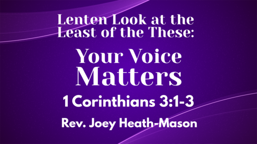 Sermon 3-22-20
