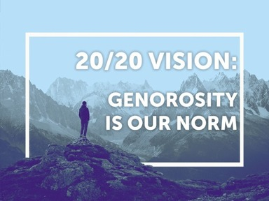 Generosity Is Our Norm