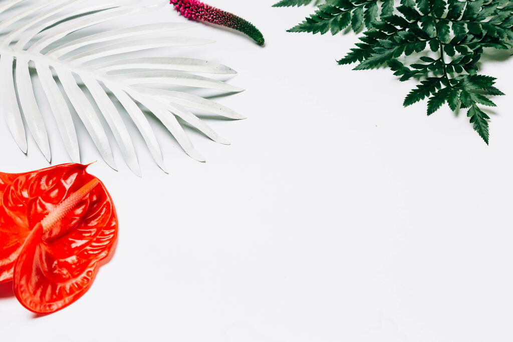 Tropical Florals and Foliage large preview