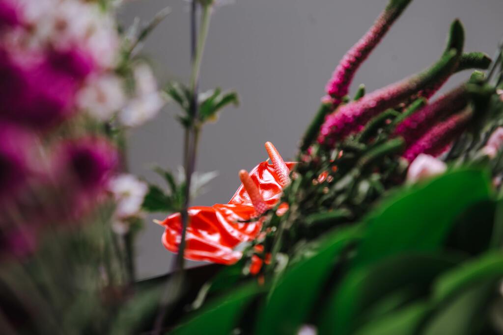 Pink Tropical Floral Arrangement large preview