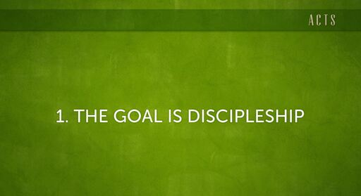 Church Planting (Acts 14:21-28)