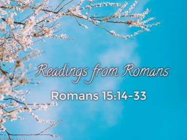 Readings from Romans 24