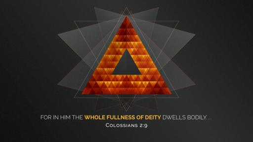 Colossians 2:9 verse of the day image