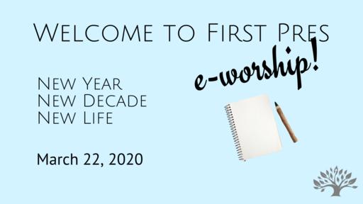 e-worship March 22, 2020 - Truthfulness Matters