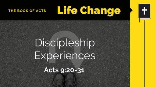 Acts: Life Change