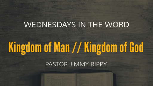 Kingdom of Man // Kingdom of God