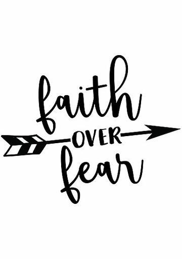 Faith Over Fear Clipart-1