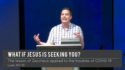 Luke 19:1-10 - What if Jesus is Seeking You?