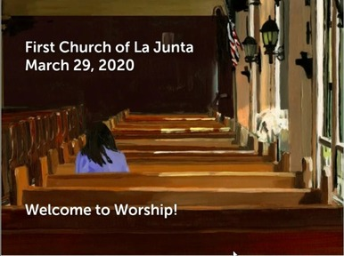 March 29th Worship Service