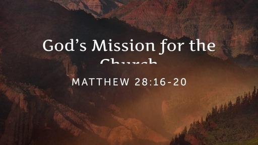 God's Mission for the Church