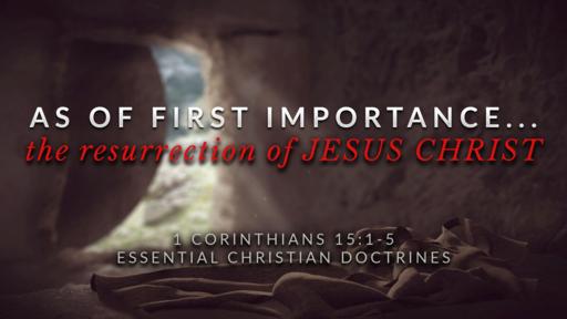 13. The Resurrection of JESUS CHRIST