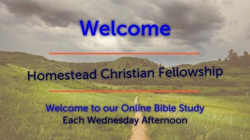 1 April Bible Study