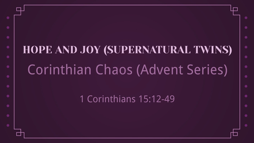 Hope and Joy (Supernatural Twins)