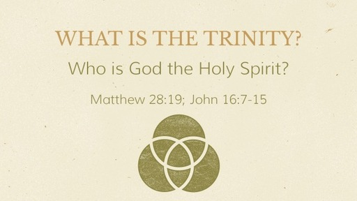 Who is God the Holy Spirit?