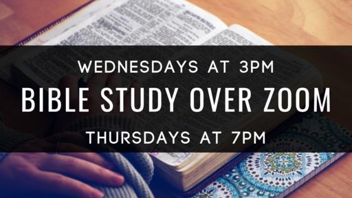 Throw your burdens onto God - Zoom Bible Series