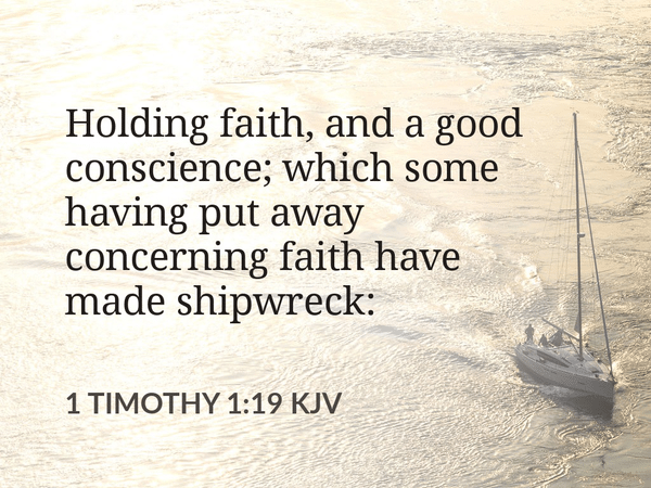 Holding on to Faith, Shipwrecked