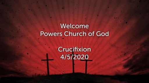 Crucifixion 4/5/2020