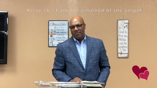 Romans 1:1-18     ACC Teaching Ministry - Pastor Ron Silas
