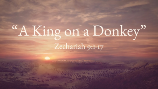 """A King on a Donkey"" (Zechariah 9)"