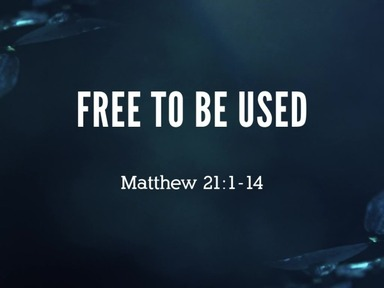 Free to be Used