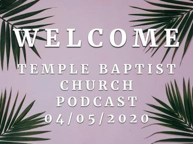 Sunday April 5 , 2020 (Palm Sunday)