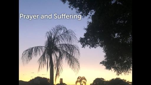 Palm Sunday Prayer and Suffering