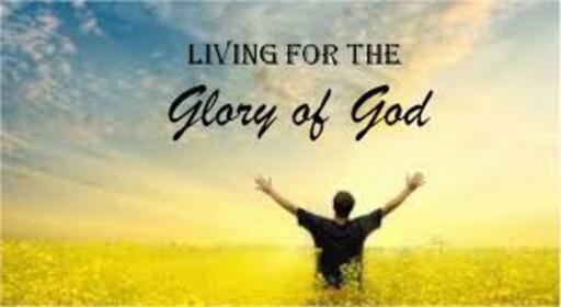 For God's Glory!