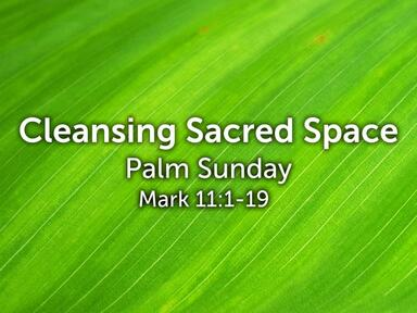Cleansing Sacred Space