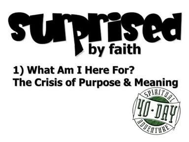 40-Day Spiritual Adventure: Surprised by Faith