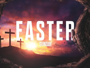 Easter Sunday April 12th