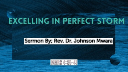 EXCELLING IN PERFECT STORM