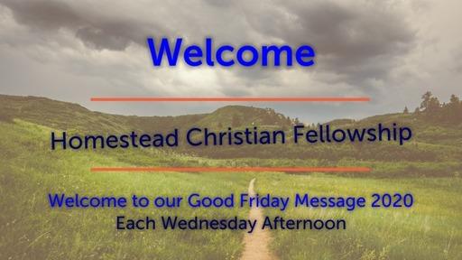 Good Friday Message 2020