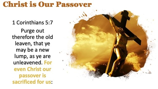 Christ is Our Passover
