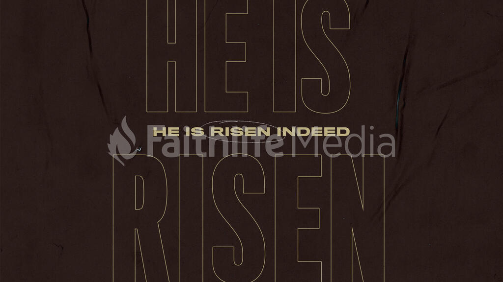 He Is Risen Indeed large preview