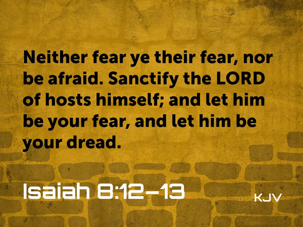 Praising in the Fear of God