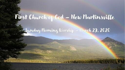 Worship Service Sunday Morning 3-29-20