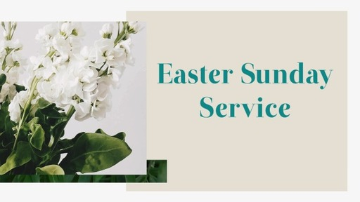 Easter Service 4-12-2020