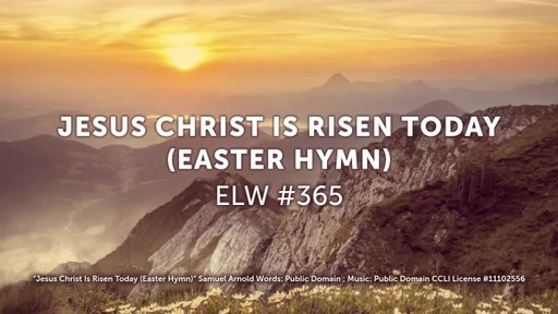 Easter 2020- Song Jesus Christ is Risen Today