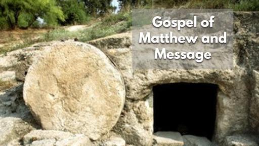 Easter 2020- Gospel