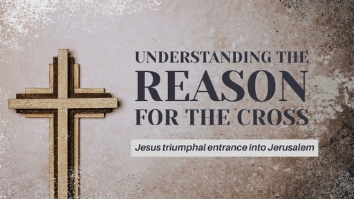 Understanding the reason for the cross