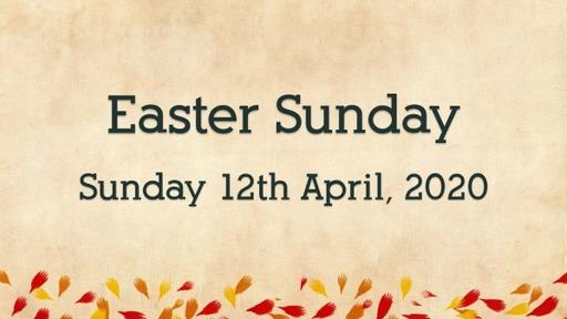 Easter Sunday, 2020