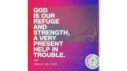 God Is Our Refuge And Strength Mountains  PowerPoint image 3
